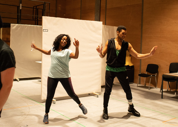 Aretha Ayeh and Arun Blair-Mangat Photo