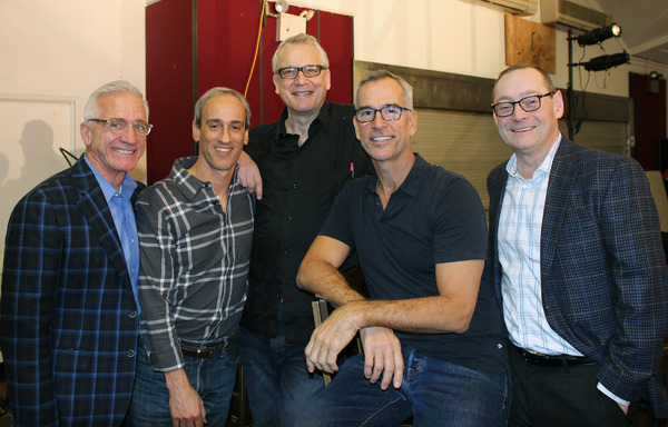 Mark S. Hoebee (Paper Mill Producing Artistic Director), Lon Hoyt (Music Director), Rick Elice (Book), Jerry Mitchell (Director/Choreographer), Michael Stotts (Managing Director)
