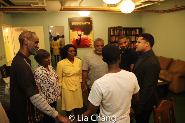 Photo Flash: Backstage With The Cast Of August Wilson's KING HEDLEY II At Two River Theater