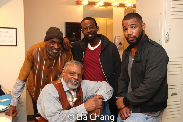 Brian D. Coats, Harvy Blanks, Charlie Hudson III and Blake Morris Photo