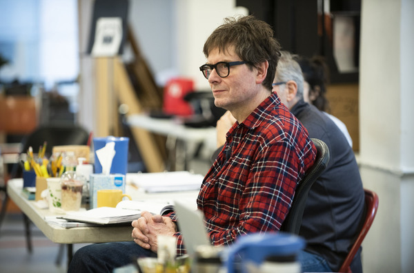 Photo Flash: In Rehearsal with Ethan Hawke and Paul Dano in TRUE WEST