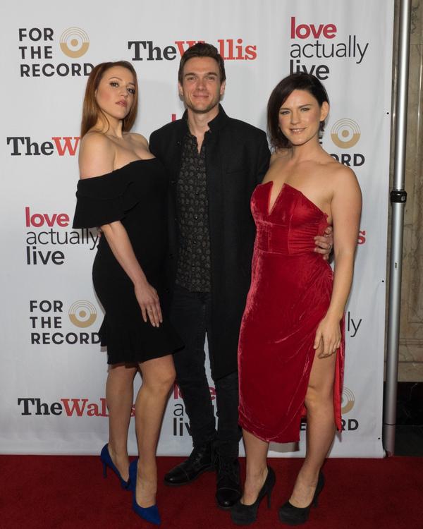 Olivia Kuper Harris, Justin Sargent, and Carrie Manolakos