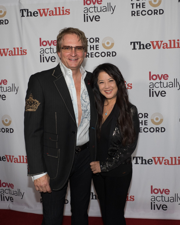 Rex Smith and Dr. Tracy Lin