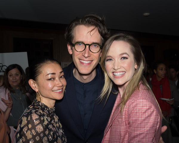 Kelley Jakle with Director Anderson Davis and Sumie Maeda
