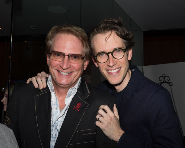 Rex Smith with Director Anderson Davis