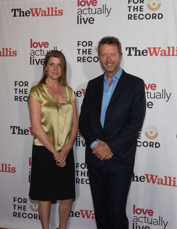 Wallis Executive Director and CEO Rachel Fine and Artistic Director Paul Crewes