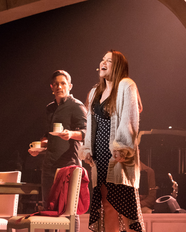 Steve Kazee and Olivia Kuper Harris