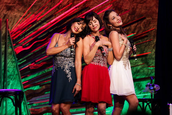 Courtney Reed, Laura Osnes, and Susan Egan