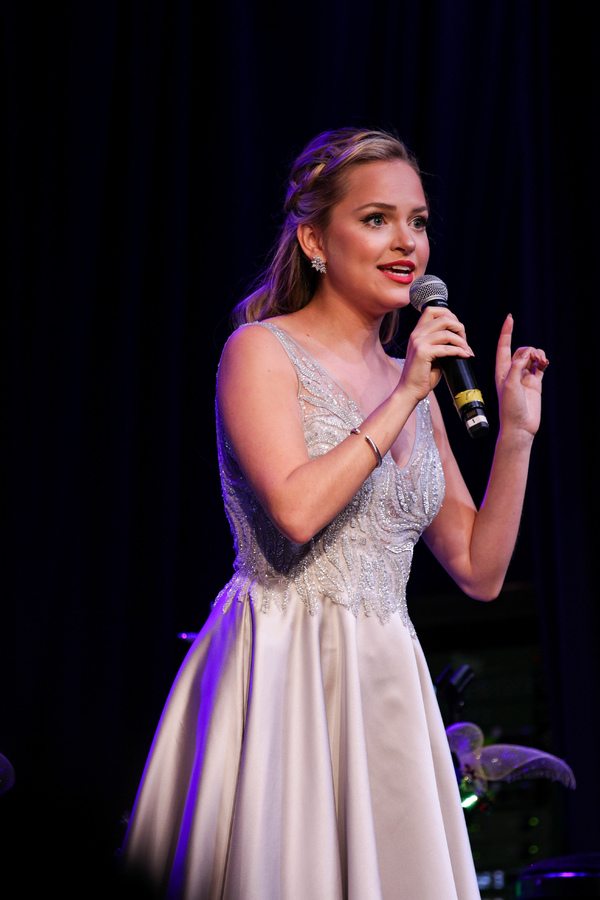 Photo Flash: Laura Osnes, Susan Egan, Corey Cott And More Star In THE BROADWAY PRINCESS HOLIDAY PARTY