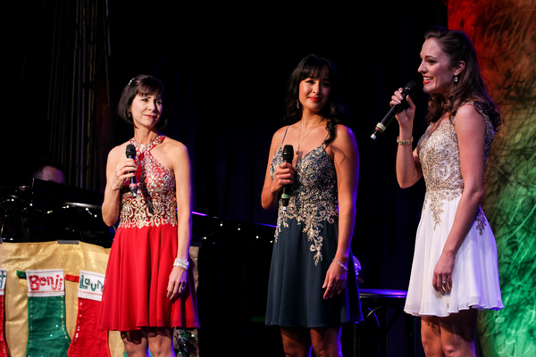 Susan Egan, Courtney Reed, and Laura Osnes