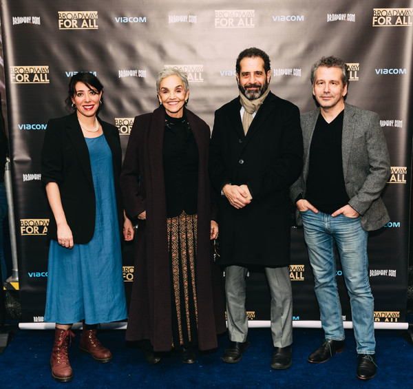 Rachel Chavkin, Brooke Adams, Tony Shalhoub, David Cromer Photo