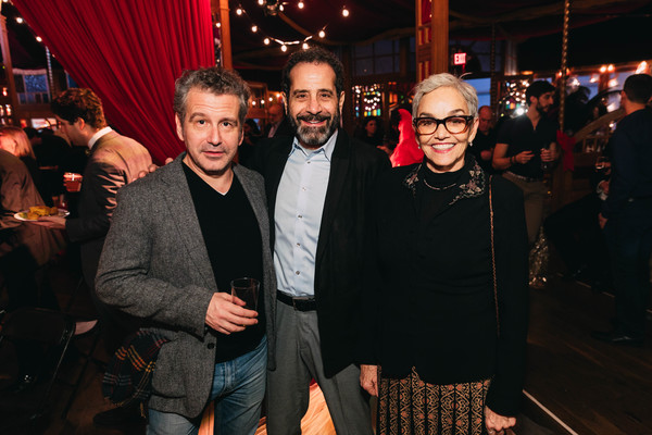 David Cromer, Tony Shalhoub, Brooke Adams Photo