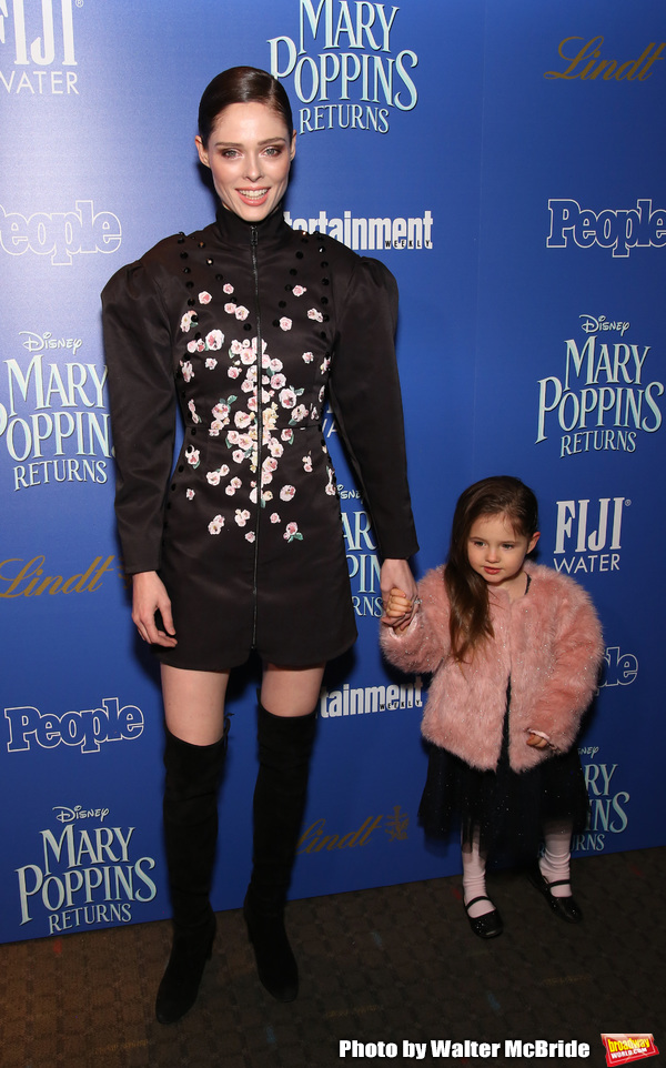 Coco Rocha and daughter