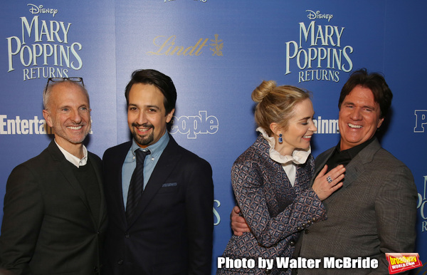 Photo Coverage: On the Practically Perfect Red Carpet for MARY POPPINS RETURNS New York Premiere!