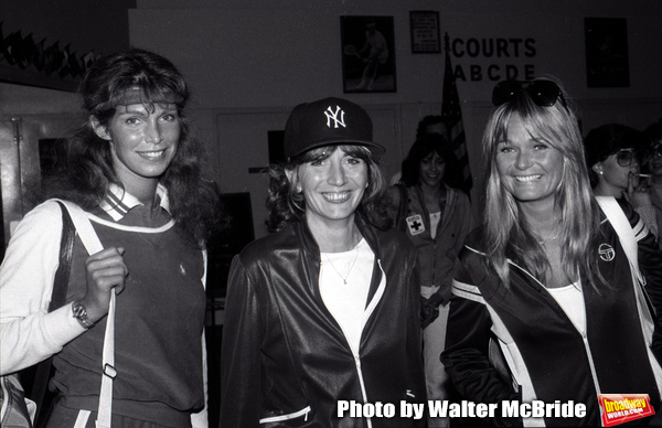 Ann Turkel, Penny Marshall and Valerine Perrine  attend a Celebrity Charity Tennis To Photo