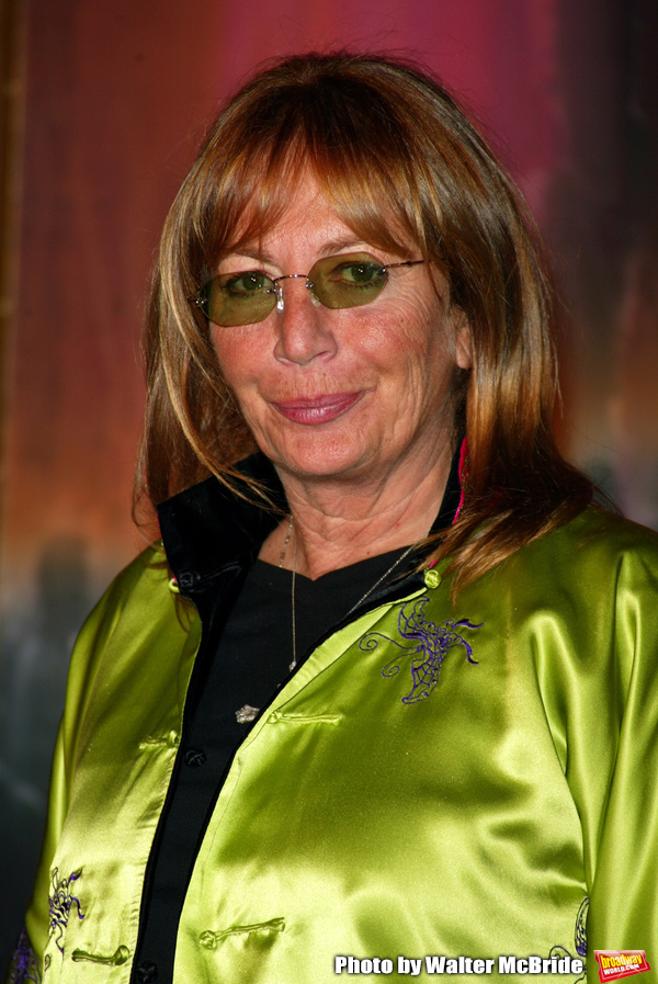 Penny Marshall attending the Opening Night performance of the new Broadway Musical TA Photo