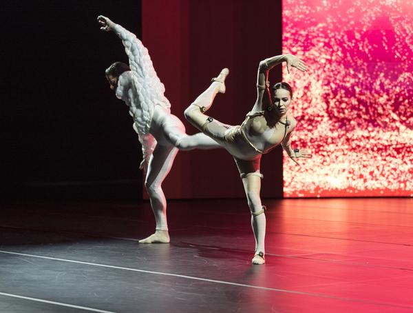 Marcelo Gomes and Diana Vishneva in Sleeping Beauty Dreams.