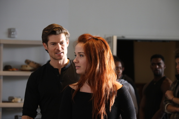 Photo Flash: Sierra Boggess, Rachel York, And More In Rehearsal For EVER AFTER At Alliance Stage