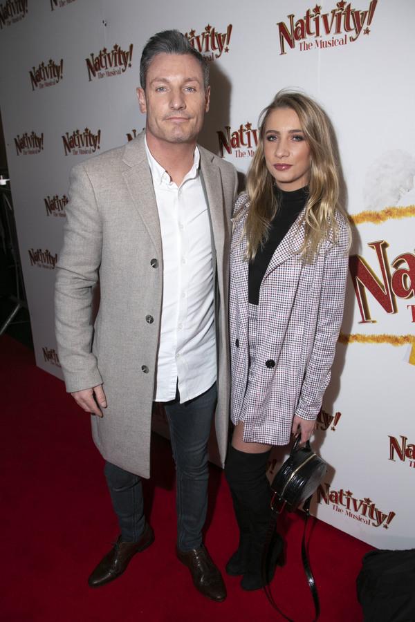 Dean Gaffney and Chloe Gaffney