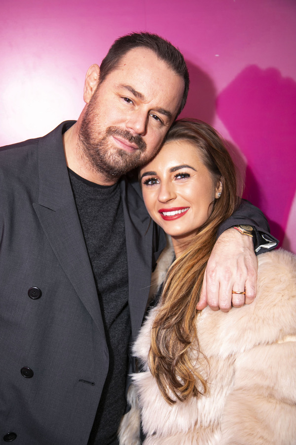 Danny Dyer (Hollywood Producer) and Dani Dyer (Polly Parker) Photo