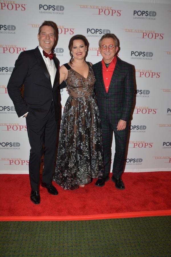 Steven Reineke, Ashley Brown and Thomas Schumacher Photo