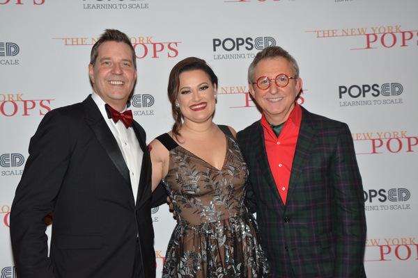 Steven Reineke, Ashley Brown and Thomas Schumacher