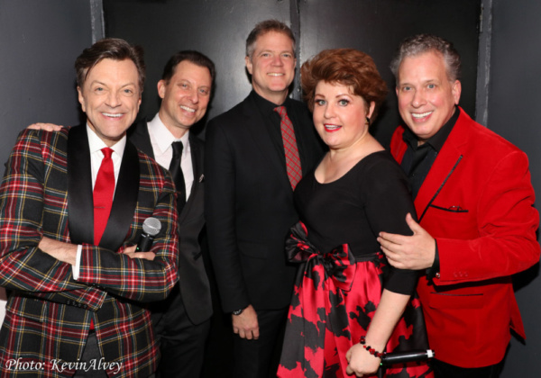 Jim Caruso, Daniel Glass, Steve Doyle, Klea Blackhurst, Billy Stritch