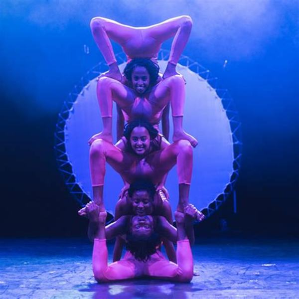 The Contortionists of Circus Abyssinia at New Victory Theatre.