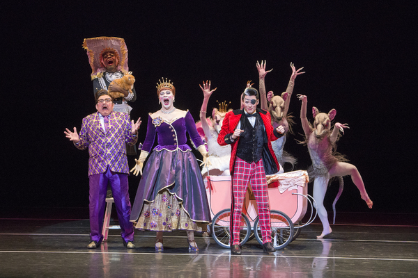 Photo: BAM and Mark Morris Dance Group presentThe Hard NutBased on the book by E.T.A. Hoffmann, The Nutcracker and the Mouse KingMark Morris Dance GroupFeaturing the MMDG Music Ensemble and The Hard Nut SingersMusic by Pyotr Ilyich Tchaikovsky, The Nutcra