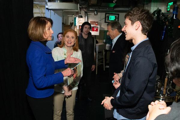 Photo Flash: Nancy Pelosi Visits DEAR EVAN HANSEN in San Francisco