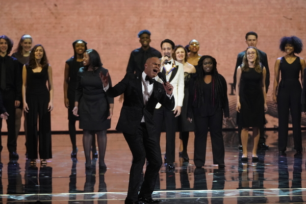 Photo Flash: See the HAMILTON Cast, Kristin Chenoweth, Adam Lambert and More at the Kennedy Center Honors