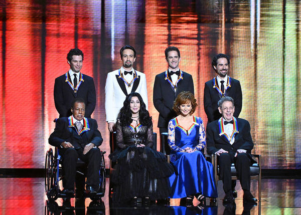 Thomas Kail, Lin-Manuel Miranda, Andy Blankenbuehler and Alex Lacamoire, Wayne Shorter, Cher, Reba McEntire, and Philip Glass