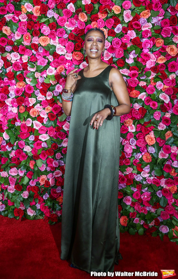 Noma Dumezweni attends the 72nd Annual Tony Awards at Radio City Music Hall on June 10, 2018 in New York City.