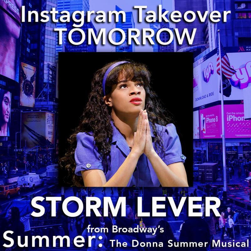 SUMMER's Storm Lever To Take Over Instagram Tomorrow!