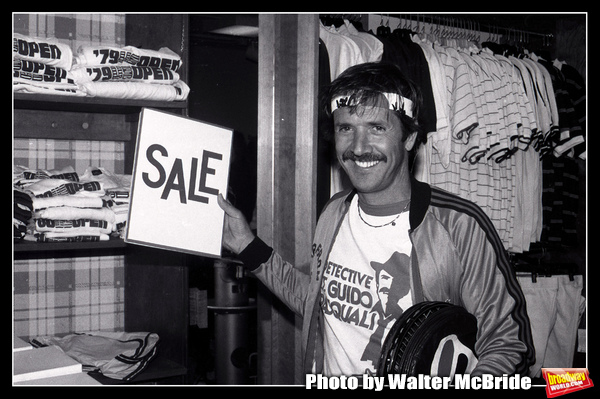 Photo Flashback: Sonny Bono Attends a Celebrity Charity Tennis Tournament in 1981