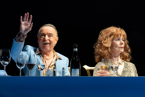 Ron Cook and Celia Imriel
