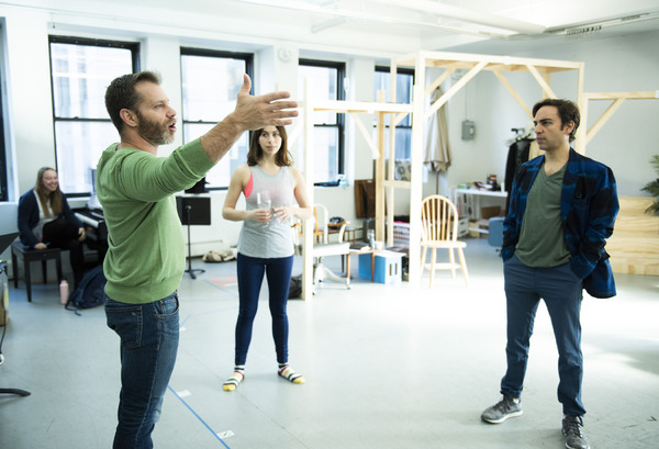 Photo Flash: In Rehearsal with Roundabout's MERRILY WE ROLL ALONG