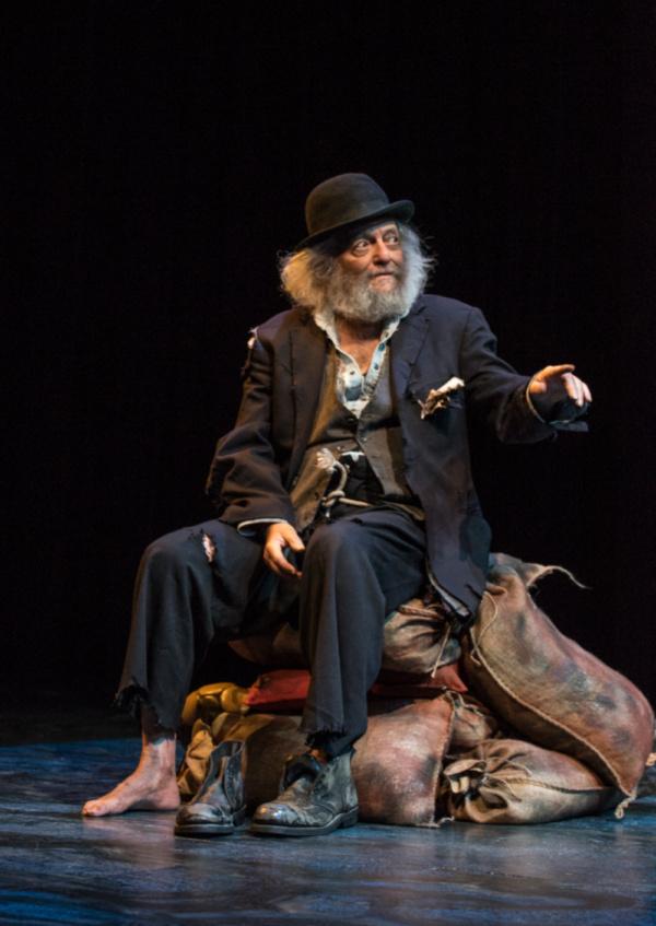 David Mandelbaum as Estragon. Photo by Dina Raketa. Photo