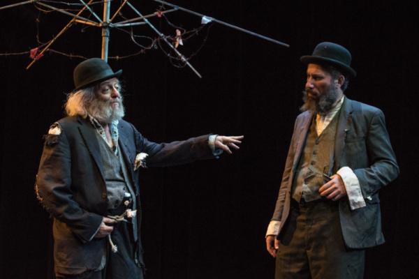 David Mandelbaum as Estragon and Eli Rosen as Vladimir. Photo by Dina Raketa.