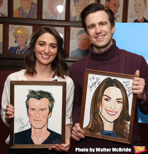 Photo Coverage: Sara Bareilles And Gavin Creel Meet The Press Before Their Shift In WAITRESS