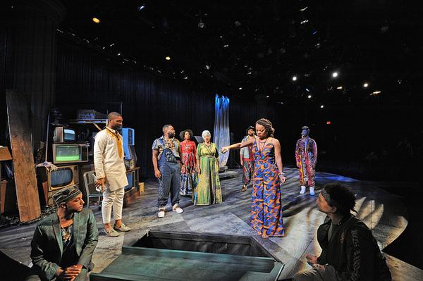 Photo Flash: Trinity Repertory Company Presentsblack odyssey