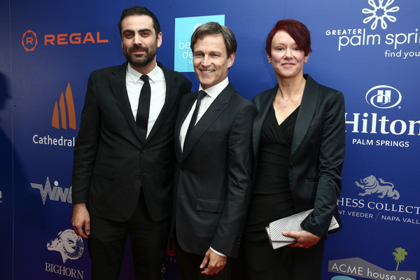 Michael Lerman, Stephen Moyer and Cerise Larkin Photo