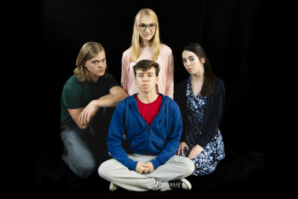 Logan Beutel as Mr. Ed Boone, Fallon Goldsmith as Siobhan, Dylan Weand as Christopher Photo