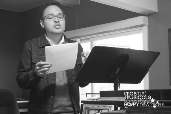 Photo Flash: In Rehearsal With The HAPPY Cast Of (mostly)musicals SongsforaHAPPYnewyear 5!