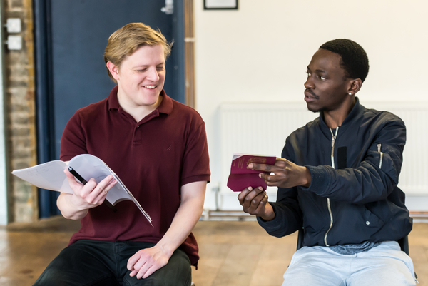 Photo Flash: Inside Rehearsal For STOP AND SEARCH
