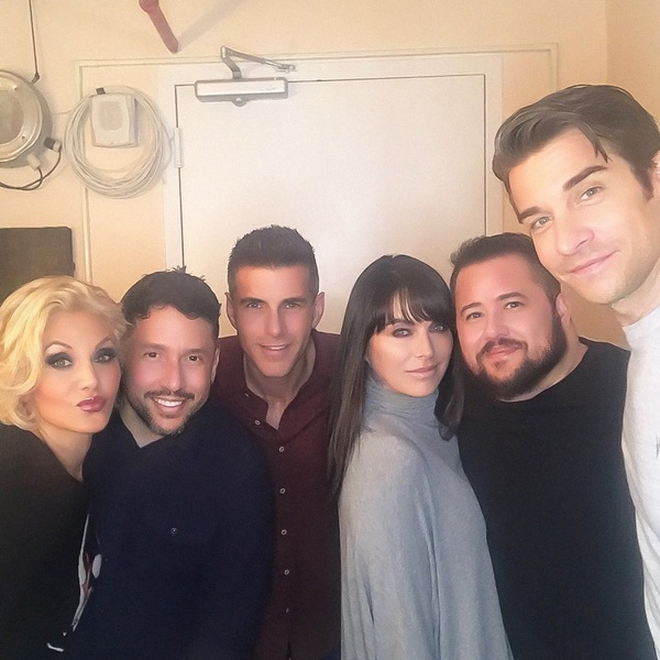 Photo Flash: Chaz Bono Visits the Cast of PRETTY WOMAN