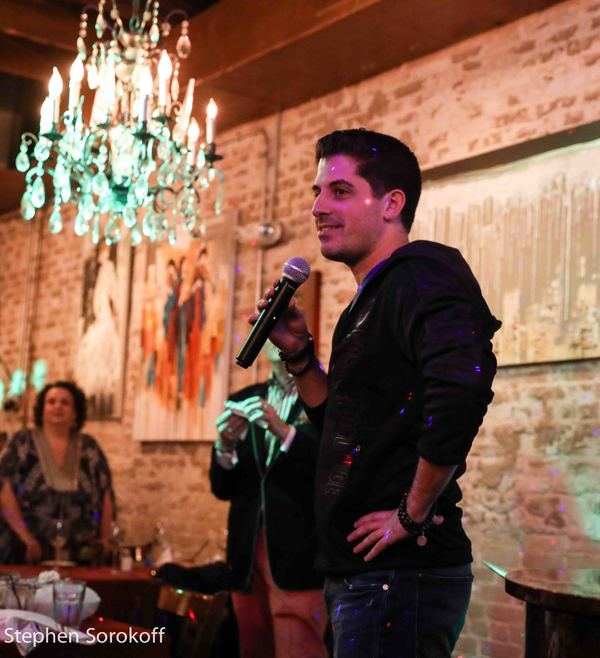 Photo Coverage: Avery Sommers & Anthony Nunziata Join Rob Russell & Michael Masci at Cafe Centro
