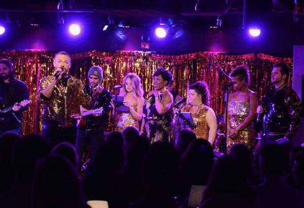 Marty Thomas, Alex Ortega, Samantha Duval, Melinda Doolittle, Marissa Rosen, Lisa Ram Photo