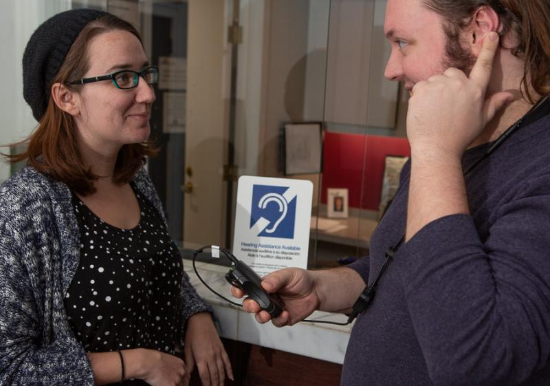 Theatre Three Offers Advanced Assisted Listening System!