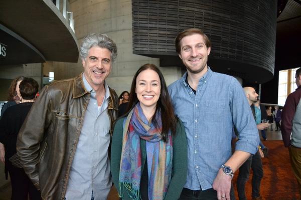 James Whalen (Dr. Austin Sloper), Laura C. Harris (Catherine Sloper) and Nathan Whitmer (Arthur Townsend)
